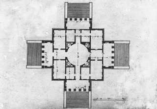A Amp A Plans Drawings Villa Rotunda