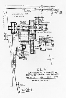 A A Plans Drawings Ely Cathedral