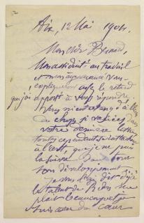 Letters Paul Cezanne