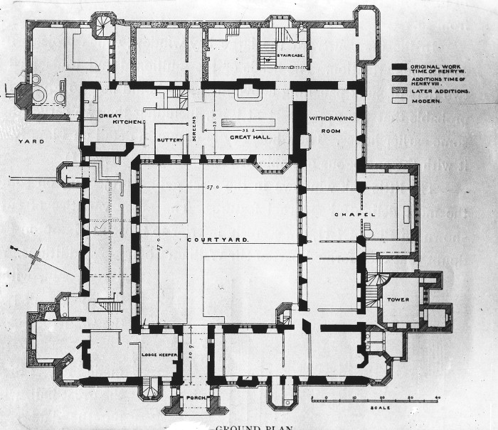 A&A   Plans (drawings), Castle