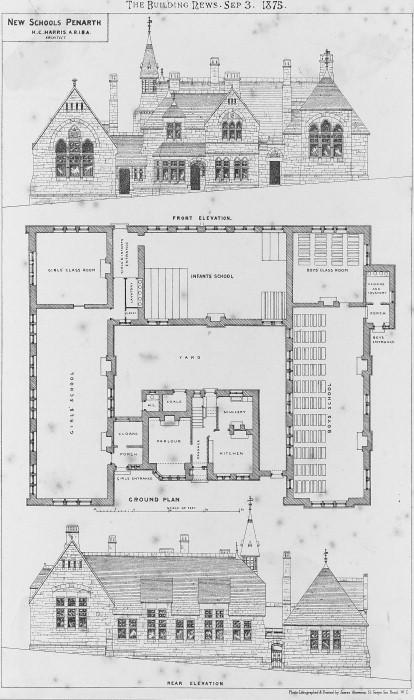 Primary School Plan Elevation : A elevations drawings plans albert