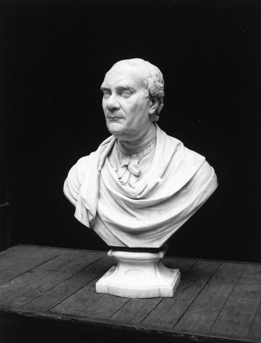 Bust of Leake Okeover