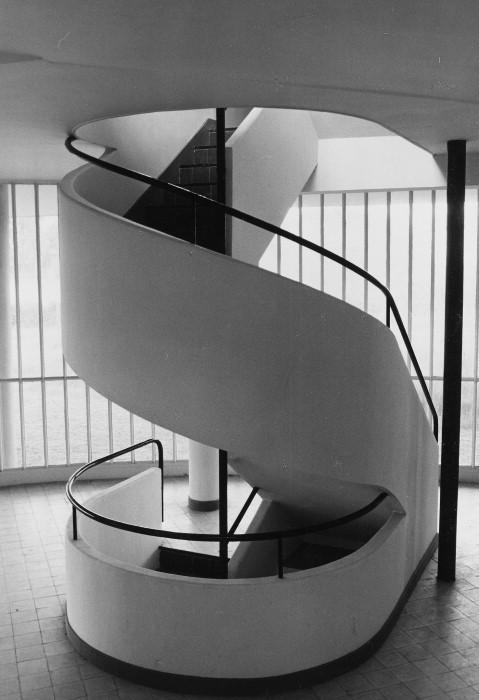 Spiral Stair, Villa Savoye.