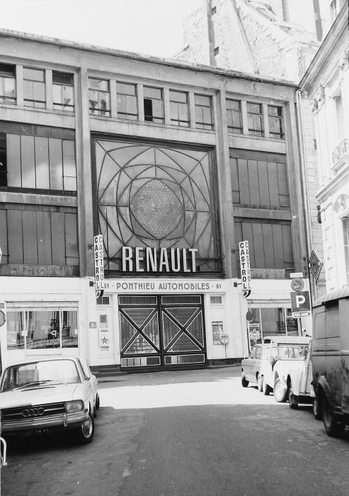 Auguste perret ponthieu garage paris 1905 architecture for Garage renault paris 9