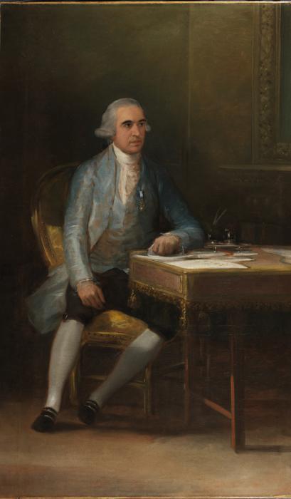 Portrait of Don Francisco de Saavedra