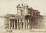 Facade, portico, Temple of Antoninus and Faustina